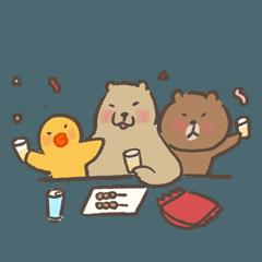 BROWN & FRIENDS X咻咻熊