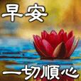 【大人风】早安/晚安/佳节祝福(高對比版)