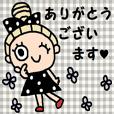 (かわいい日常会話スタンプ169)