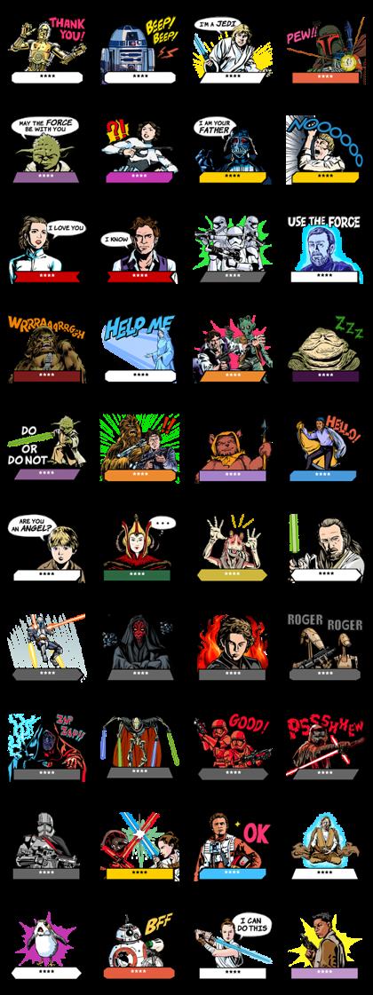 Star Wars Custom Stickers