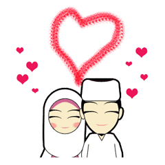 Young Couple Muslim