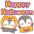 halloween message penguin 14