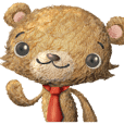 Plush Doll Bear Arashi