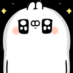 LINE Giftshop × Ugly White Rabbit