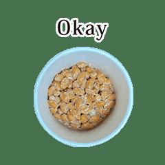 ミニカップ 納豆 と 英語 English