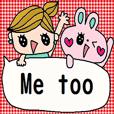 cute english sticker188
