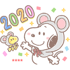 Snoopy CNY Custom Stickers