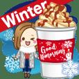改訂版【冬】大人が使える日常スタンプ