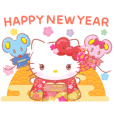 Hello Kitty CNY Stickers