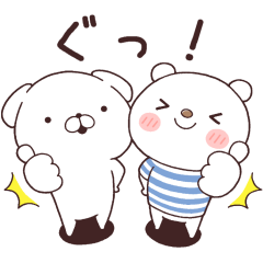 Cute White Dogs×SHIROKUMA