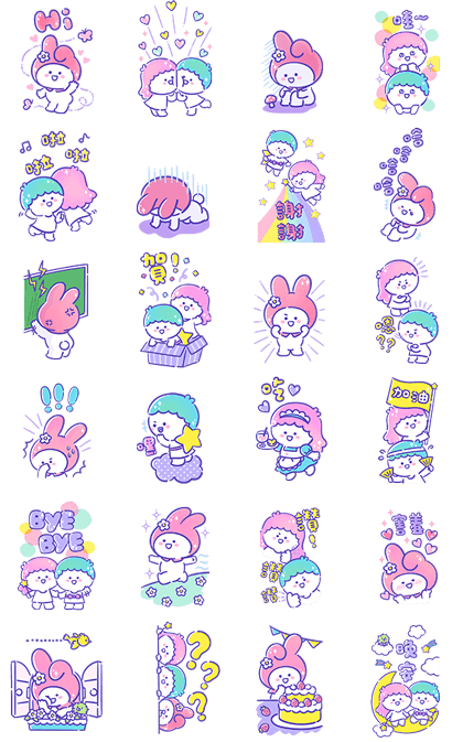 Sanrio Characters × BaoBaoNeverTell