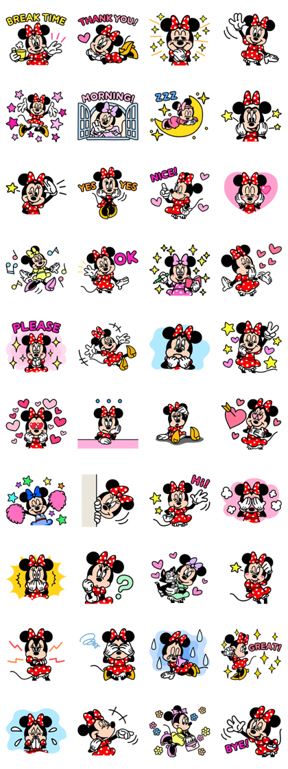 Minnie Mouse: Cute Pop