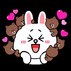 熊大兔兔情侶檔☆愛你到永遠∞