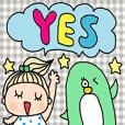 cute english sticker203