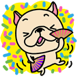 Frebull-chan kawaii Sticker