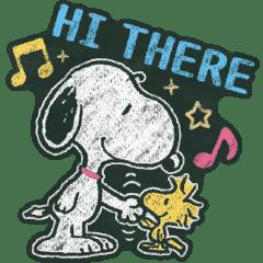 Snoopy: Chalk Art