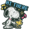 Snoopy: Lukisan Kapur
