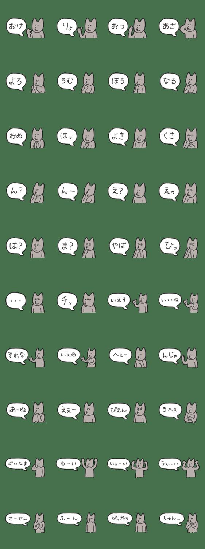 「返事が適当な犬」のLINEスタンプ一覧