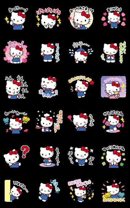 Hello Kitty Voice Stickers