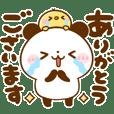 ころころパンダ♡基本のスタンプ