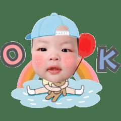 扭蛋寶貝三個月