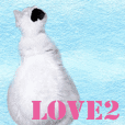My cat`s name LOVE2.