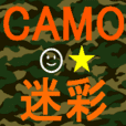 The Camouflage sticker
