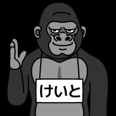 keito is gorilla