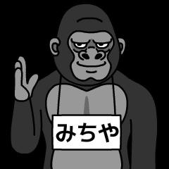 michiya is gorilla