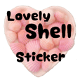 Lovely Shell Sticker