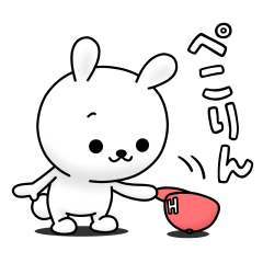 HINEKURE rabbit × LINE SHOPPING