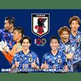 サッカー日本代表オフィシャルスタンプ