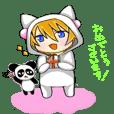 nekokun&panda