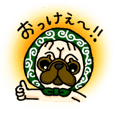 pug-chan Sticker