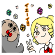 Nitamago Uncle and Lady Sticker
