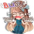 Whip cream Office girl (ENG)