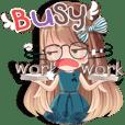 Whip cream Office girl (ENG)