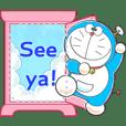 Stiker Pesan Doraemon