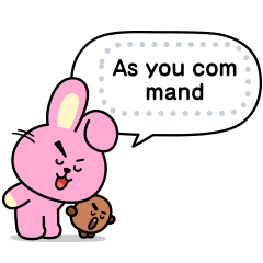 BT21 Message Stickers