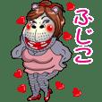 Kabami Sticker( Hujiko )