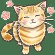 やさしい猫のポップアップ 6☆デフォルト風