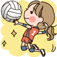 Girls' volleyball club