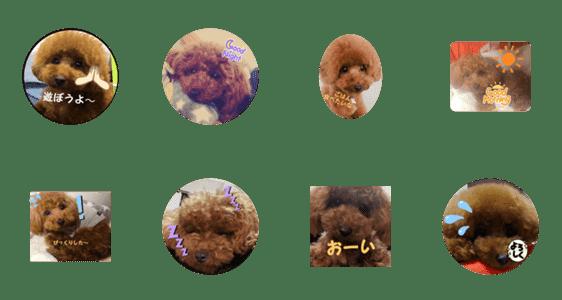 「可愛いい自分の犬❤」のLINEスタンプ一覧