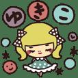 Dedicated sticker/yukiko
