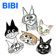Cat Bibi and her funny friends. Part 3