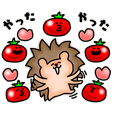A Hedgehog and Tomatoes Ver.3