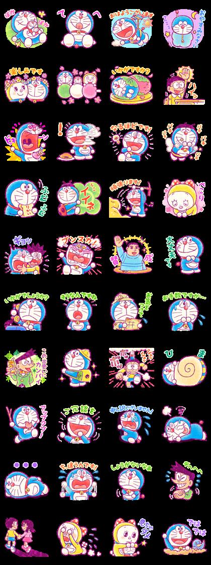 Doraemon Friendly Greetings