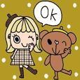 (かわいい日常会話スタンプ258)
