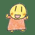 Misa's cheerful stickers