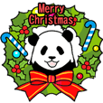 やる気のないパンダ(クリスマス&正月)